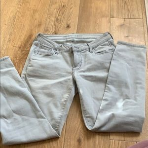 Old Navy Grey Rockstar Jean